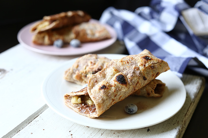 High protein French toast tortilla