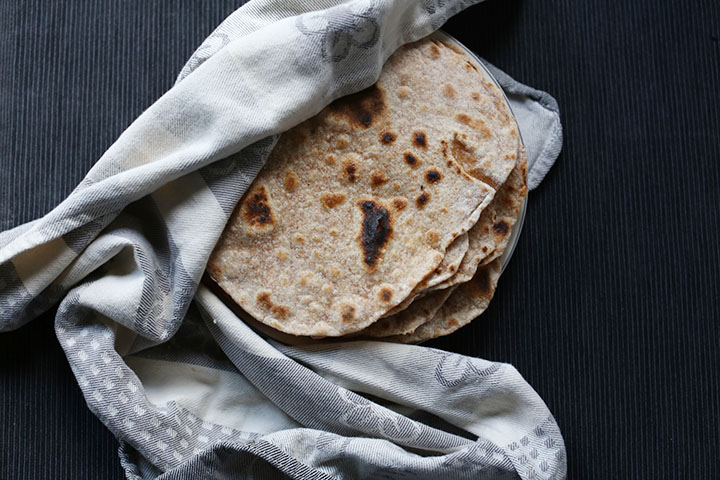 Simple flour tortillas