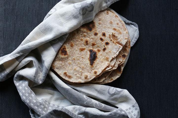 Simple flour tortillas