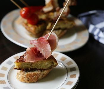 Tempting Spanish tortilla tapas pinchos result