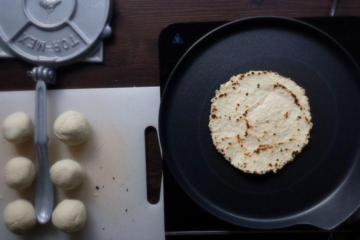 Corn Tortillas - 3 ingredients and gluten free