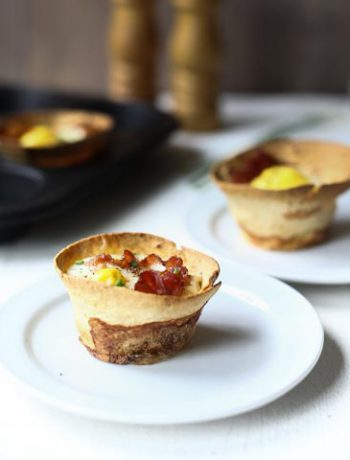 How to make Cracking bacon and egg breakfast tortilla cups