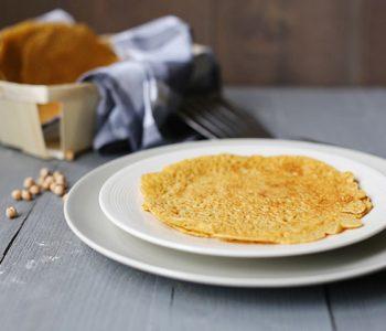 Flavory chickpea flour tortillas