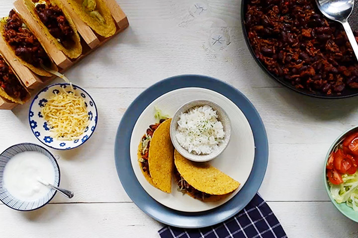 How to make the best organic beef tacos #tacos #beeftacos