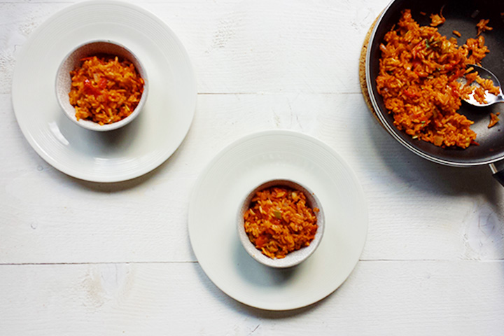 Red hot tex-mex rice