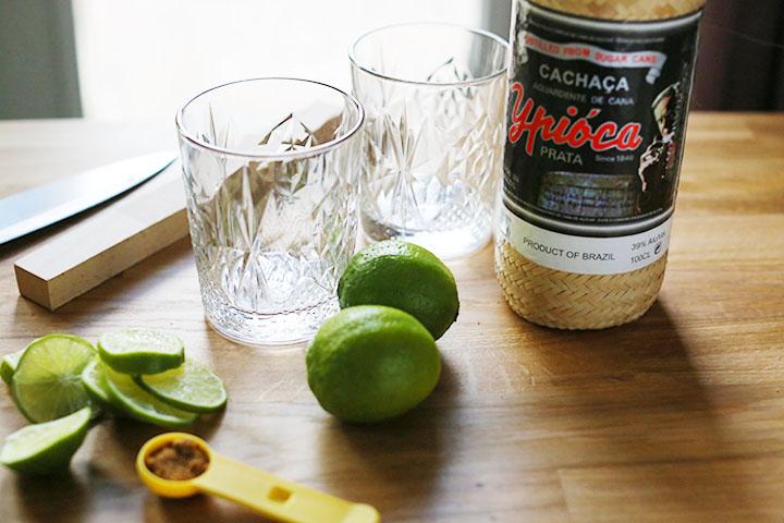 how to make a caipirinha drink
