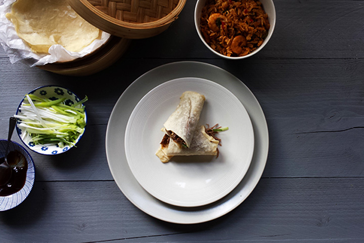 The ultimate crispy peking duck delight