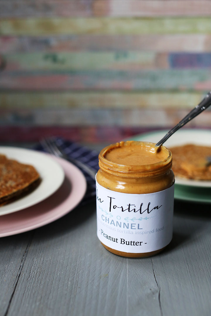 The worlds easiest organic peanut butter