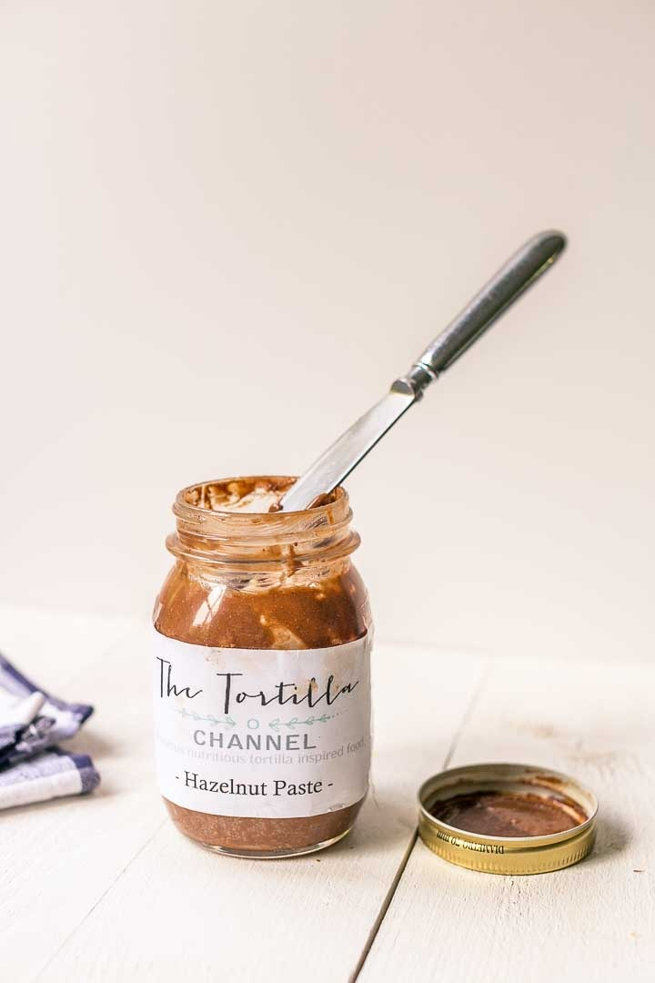 Smooth. How to make homemade nutella. Want to make this recipe visit thetortillachannel.com with video. #nuttynutella #hazelnutpaste #homemadenutella #nutella