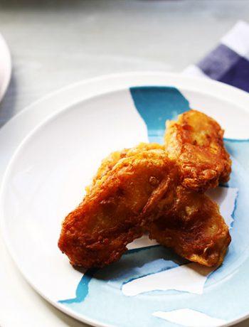 Mireilles favorites pan fried baka bana overhead left