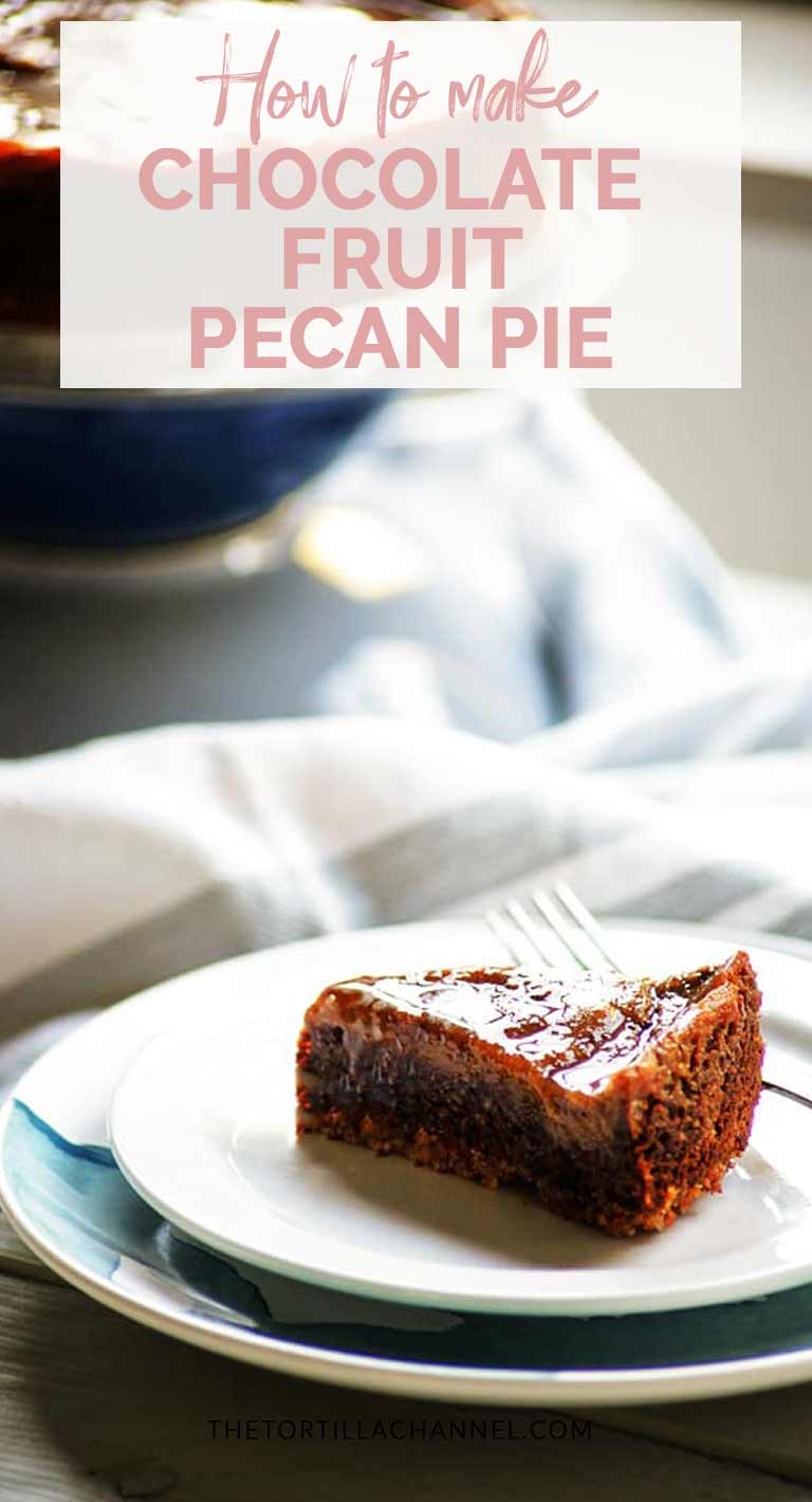 Pecan pie that is vegan, naturally sweetened with fruit and gluten free. This easy pecan pie is ready in less than an hour. You get the most delicious pie. Visit thetortillachannel.com for the full recipe and watch the video #thetortillachannel #pecanpie #veganpie #glutenfree #pierecipe