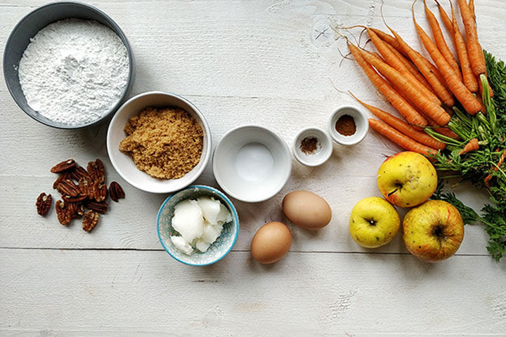 The best carrot cake ingredients