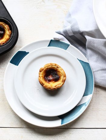 Pasteis de Nata recipe a beautiful Portuguese custard tart also know as pasteis de Belem
