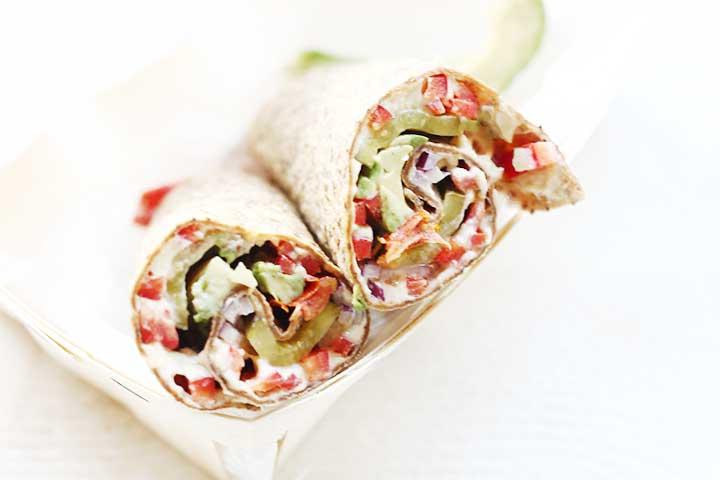 Super De lekkerste vegan lunch wrap met een bite - The Tortilla Channel DD-42