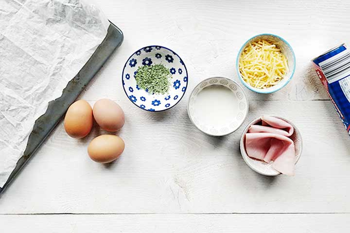 Ham egg and cheese crescent ring is great as special breakfast or lunch dish. It uses ready made crescent or croissant dough. Visit thetortillachannel.com for the recipe and video instruction