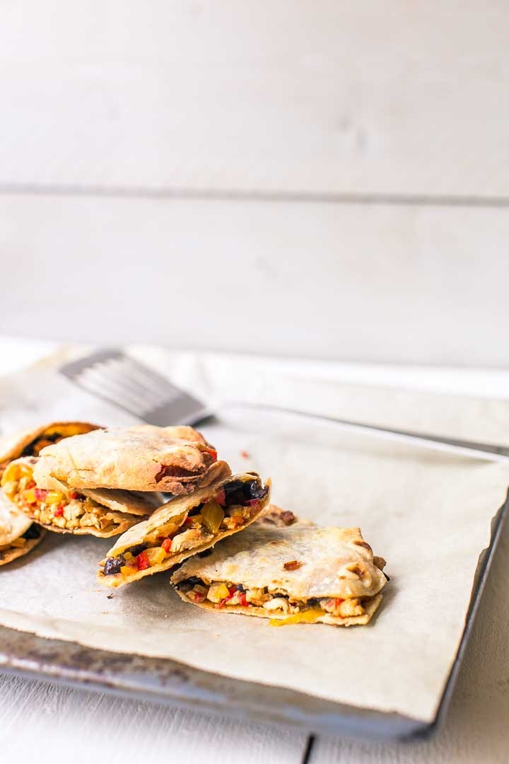 Chicken quesadillas recipe is super easy to make. Oven baked so not a lot of calories #thetortillachannel #chickenquesadillas #easychickenquesadillas #quesadillas #ovenbakedquesadillas #bakedquesadillas
