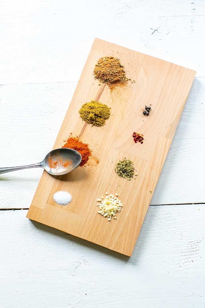 Authentic taco seasoning ingredients shows you how to make home made taco seasoning mix. Spices up your taco recipes and dinners. Easy to make taco mix recipe. Visit thetortillachannel.com for the full recipe. #tacoseasoning #tacomix #homemadetacomix #tacomixrecipe