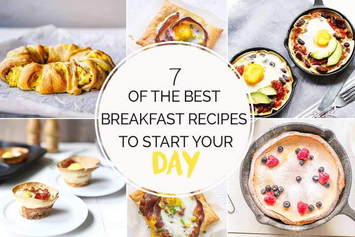 7 of the best breakfast recipes to start your day. With tortilla egg cups, puff pastry tarts, crescent ring, huevos rancheros. Visit thetortillachannel.com for the full list. #breakfastrecipes #breakfastburrito #thebestbreakfastrecipes #eggrecipes #healthyrecipes #healthybreakfast