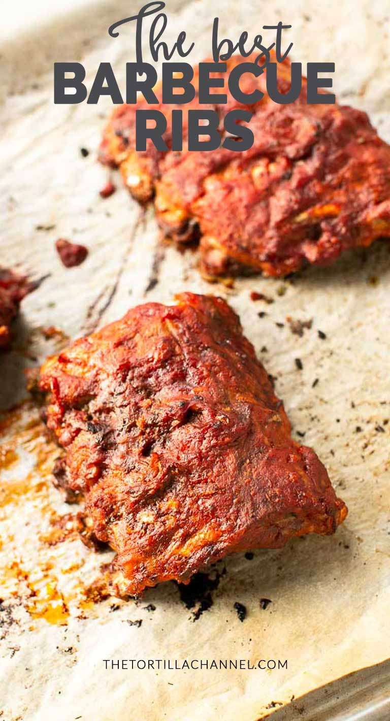 These Crockpot barbecue ribs are a great dinner recipe. Slow cooked in the Crockpot Express you get fall off the bone ribs. #thetortillachannel #crockpotbarbecueribs #slowcookedbarbecueribs #barbecueribs #homemadebarbecueribs #crockpotribs #slowcoockedribs