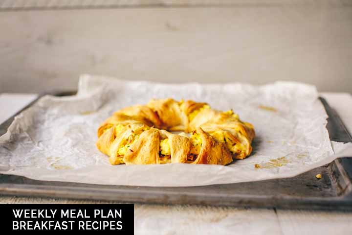 This weekly meal plan serves breakfast recipes that you can eat for lunch or dinner. #tortillachannel #breakfastrecipes #breakfastfordinner