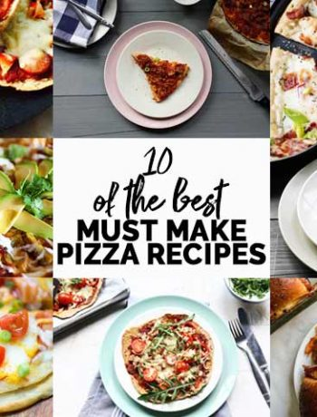10 of the best must-make pizza recipes. Some fast dinner recipes other require a bit more patience put all these homemade pizza recipes are delicious. So looking for easy pizza recipes to make at home come take a look. #thetortillachannel #homemadepizza #10pizzarecipes #easypizza #deliciouspizza #howtomakepizza
