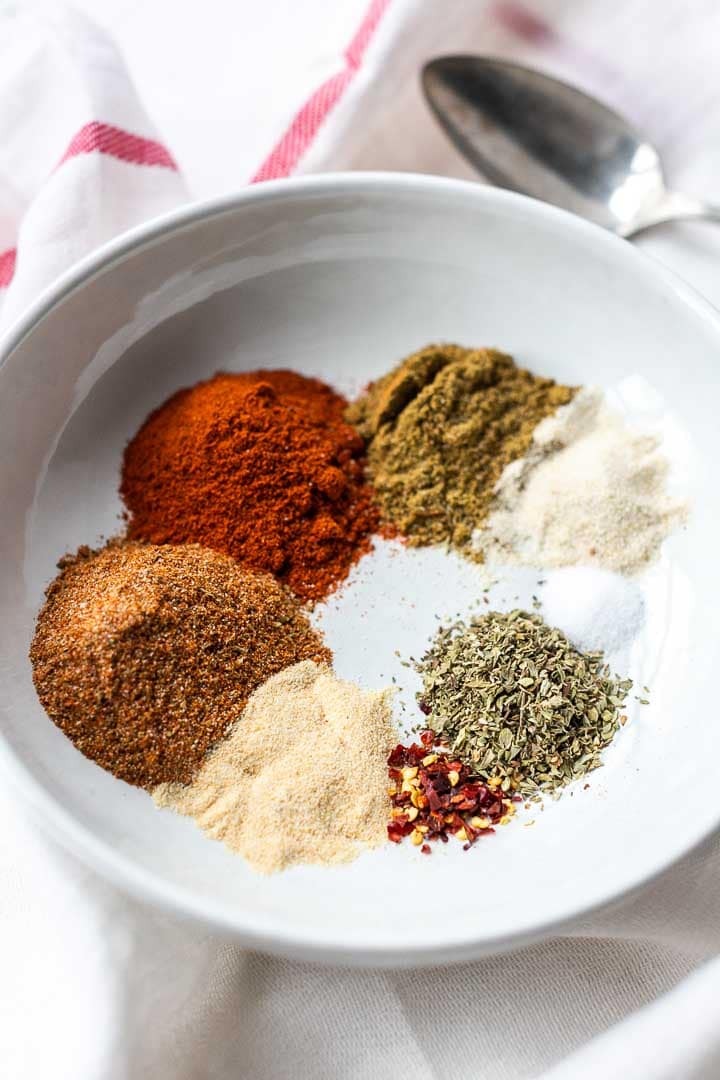 Mexican seasoning is your go to spice blend that you can use in your Mexican recipes like tacos, burritos, enchiladas or fajitas. It also tastes great with veggies, meats or homemade tortilla chips. Visit thetortillachannel.com #thetortillachannel #mexicanseasoning #mexicanspicemix #mexicanspiceblend #mexicanblend