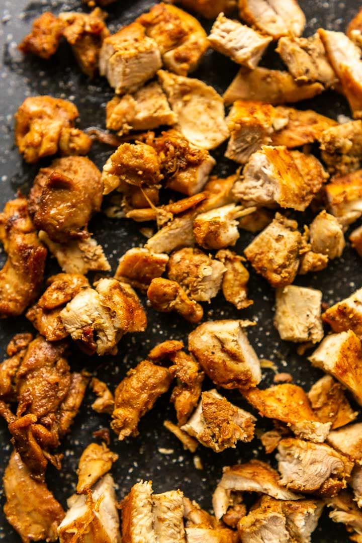 This Mexican chicken marinade made with chicken thighs are the best. You can eat it with tacos, fajitas or a chicken wrap. Make a big batch and freeze it. This recipe is easy, fast and simple. Visit thetortillachannel.com for the full recipe. #thetortillachannel #mexicanchicken #mexicanchickenmarinade #easychicken