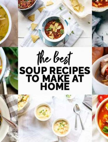 Looking for the best soup recipe you can make at home? This is for you, 9 great recipes with easy soup recipe. From vegan soup to vegetarian soup to chicken soup to beef soup. Something for everyone. #thetortillachannel #souprecipes #chickensoup #beefsoup #vegansoup