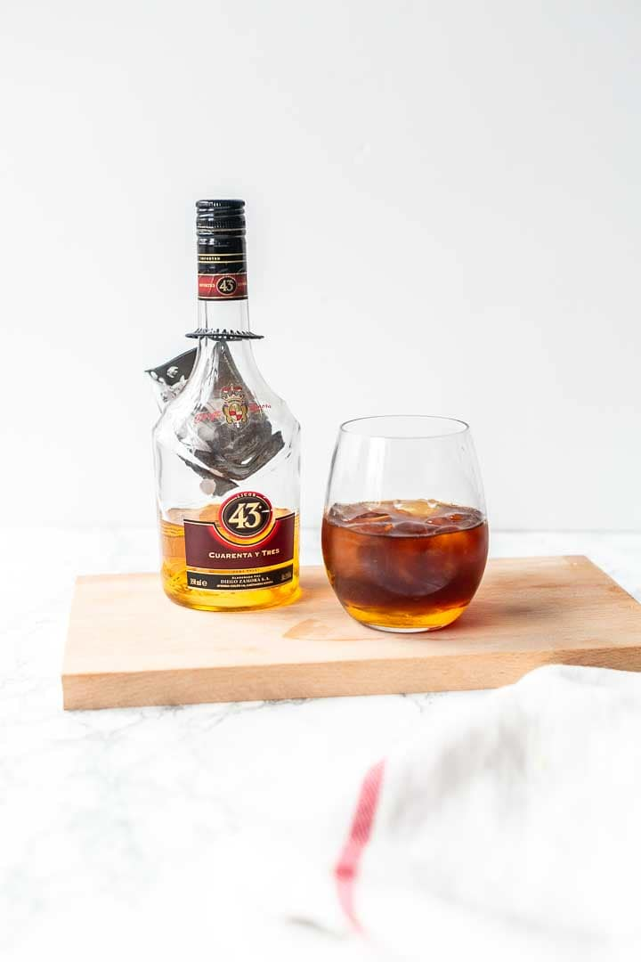Carajillo coffee is a Mexican coffee cocktail made with Licor 43. A delicious coffee recipe. Visit thetortillachannel.com for the full recipe. #thetortillachannel #carajillo #coffeecocktail #carijilocoffee #Mexicancarajillo #Mexicancoffee