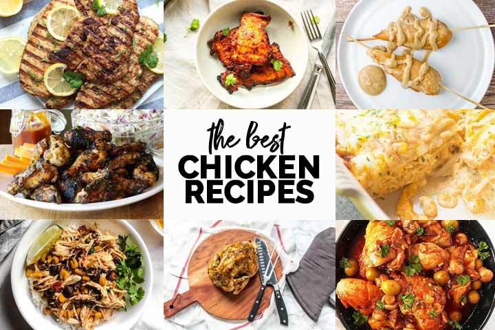 The best chicken recipes you can find for dinner. Easy recipes, slow cooker recipes, grill recipes. Here you find it all. Visit thetortillachannel.com #thetortillachannel #chickenrecipes #thebestchickenrecipes