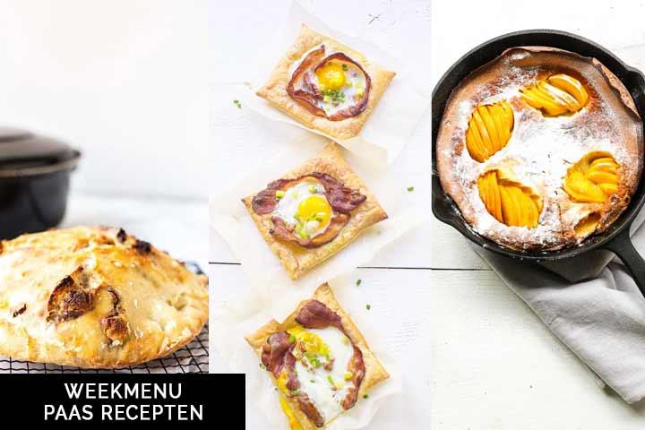 Weekmenu paas recepten voor Paas inspiratie. #thetortillachannel #pasen #paasrecepten