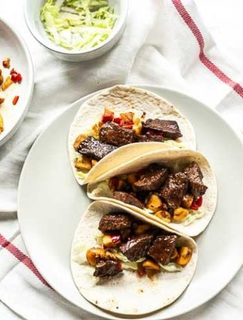 Looking for a great week night dinner recipe? Try these steak taco recipe. Easy to make and on the table in no time. Try this Mexican steak tacos and visit thetortillachannel.com. #thetortillachannel #steaktaco #mexicansteaktacos #tacorecipe #tacotuesday #dinnerrecipe #steaktacorecipe