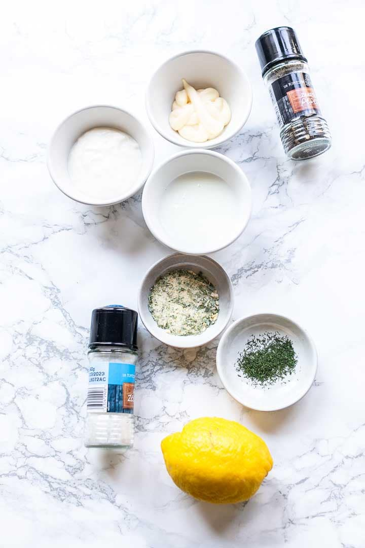 Looking for the easiest ranch dressing at home? Try this ranch dressing recipe. Easy to make done in minutes. Visit thetortillachannel.com for the full recipe. #thetortillachannel #ranchdressing #ranchdressingrecipe