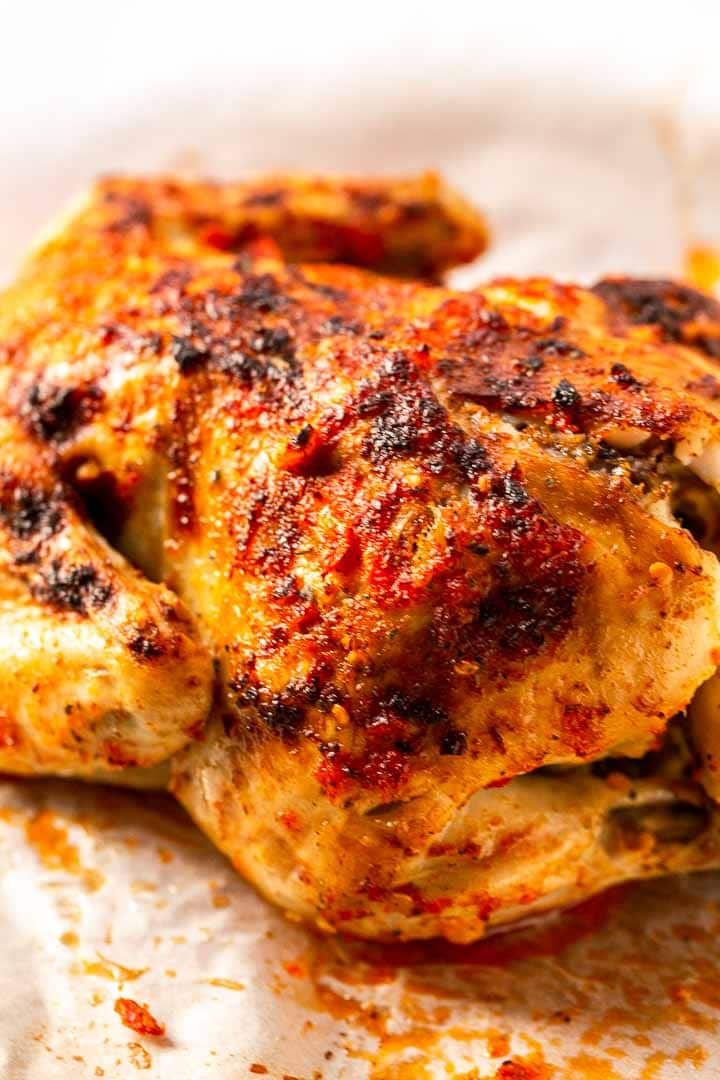 Looking for a spicy chicken dinner? Try this Potuguese Peri Peri recipe. It is really easy to make in the slow cooker with Piri Piri seasoning and Peri Peri sauce. Visit thetortillachannel.com for the full recipe and video #thetortillachannel #chicken #chickenrecipe #periperichicken #piripirichicken