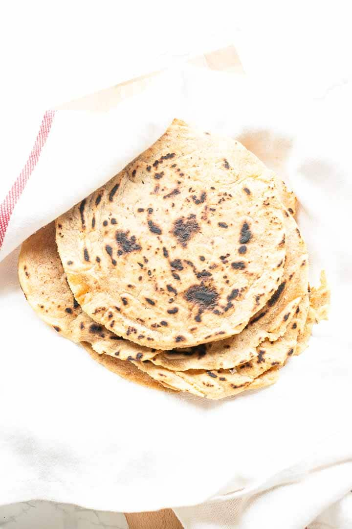 Looking for tasty tortillas? Take a look at these cassava tortillas. They are gluten-free, with great texture and flavor. Perfect for your Tex-Mex and Mexican recipe. Visit thetortillachannel.com for the full recipe #thetortillachannel #tortillas #cassavatortillas #gluten-freetortillas