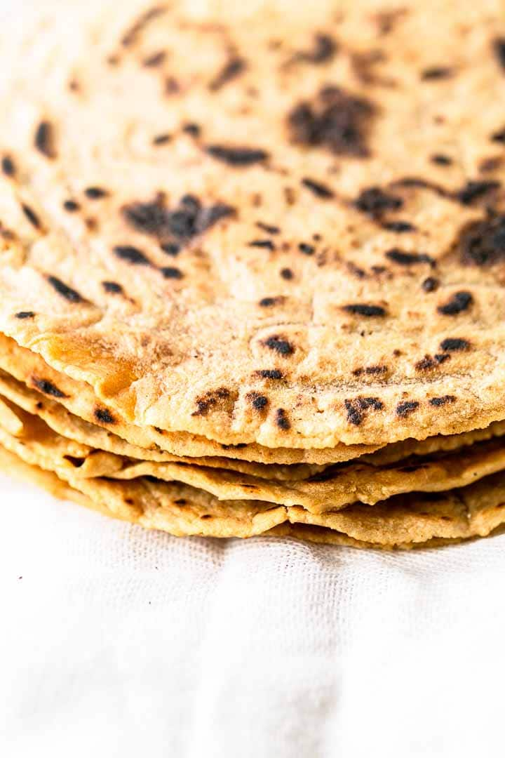 Looking for tasty tortillas? Take a look at these cassava tortillas. They are gluten-free, with great texture and flavor. Perfect for your Tex-Mex and Mexican recipe. Visit thetortillachannel.com for the full recipe #thetortillachannel #tortillas #cassavatortillas #gluten-free tortillas