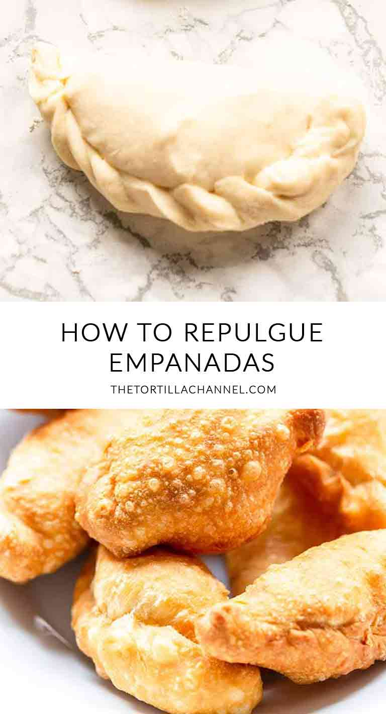 How to repulgue empanadas! Tips and techniques to show you the various ways you can fold and seal empanadas. Takes a bit of practice but give it a try! Visit thetortillachannel.com for all the instructions #thetortillachannel #foldempanadas #repulgueempanadas #empanadas